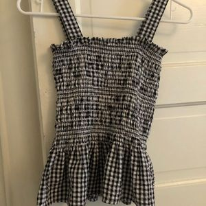 Urban Outfitters Gingham tank